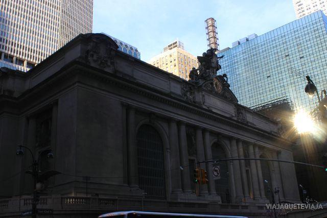 Fachada Grand Central terminal