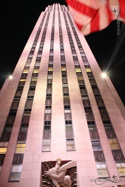 Fachada Rockefeller Center