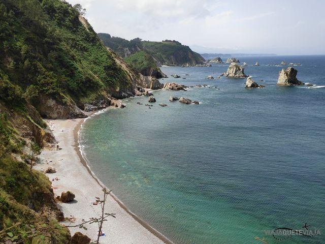 Ruta por los acantilados Asturianos 18