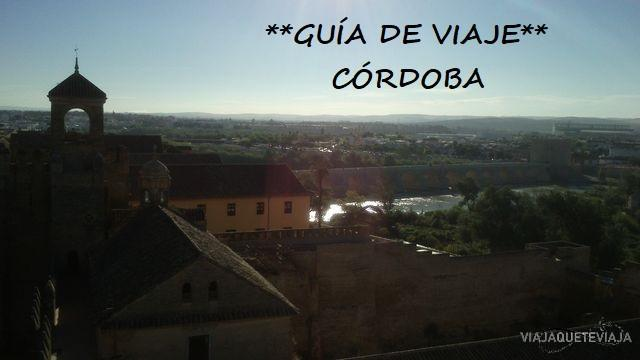 Portada guía de viaje de Córdoba
